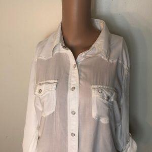 True Religion women blouse size M